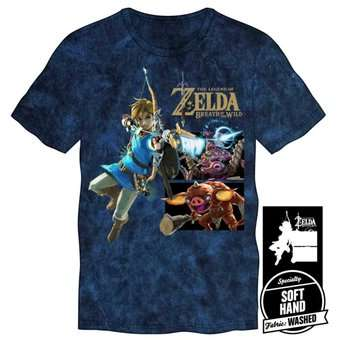Camiseta Link With Monsters Tee Azul Talla L 14075