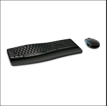 Combo Mouse+Teclado Multimedia Bluetooth Ergo Sculpt Comfort 12621